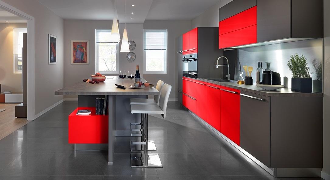 Donde colocar los electrodomésticos en la cocina - Comedores Europeos