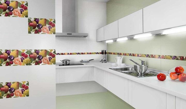 Ideas para agregar color a la cocina comedores europeos - Azulejos cocina modernos ...