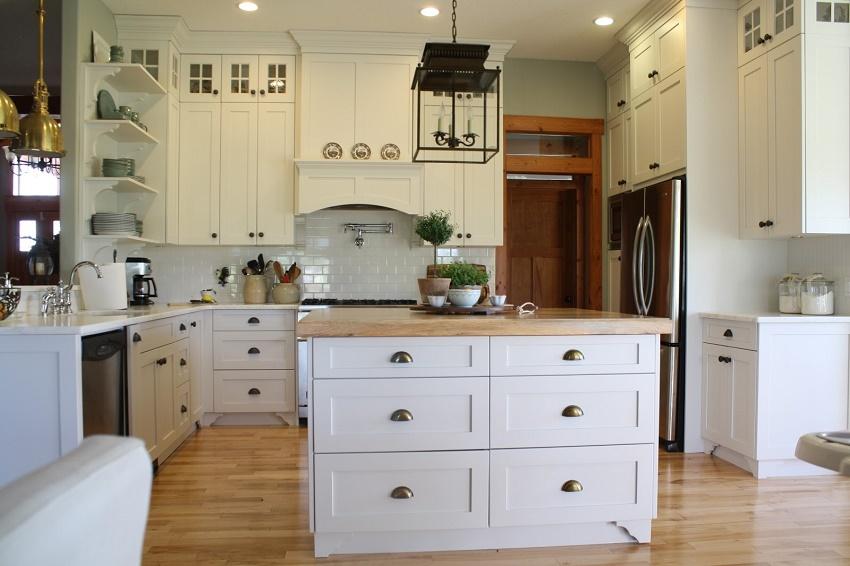 Estilo granjero en tu cocina integral   marmol, granito, comedores ...