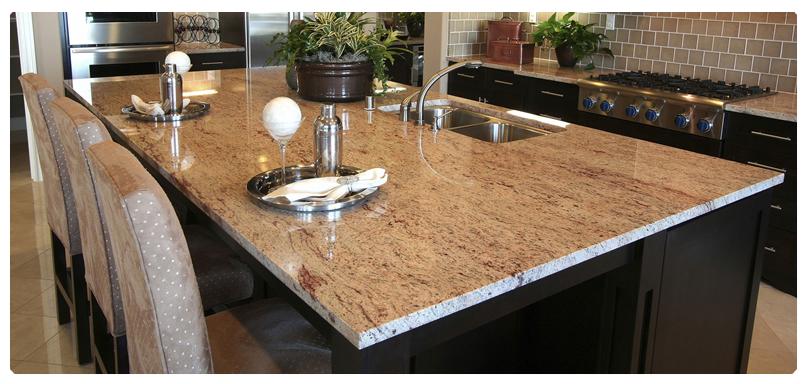 Cubiertas de granito marmol granito comedores marmol for Colores de granito para encimeras de cocina
