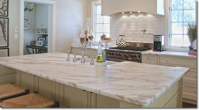 Cocina en marmol imagui for Marmol de granito para cocina