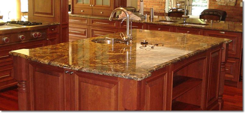 Cubiertas de granito marmol granito comedores marmol for Marmoles y granitos para cocinas