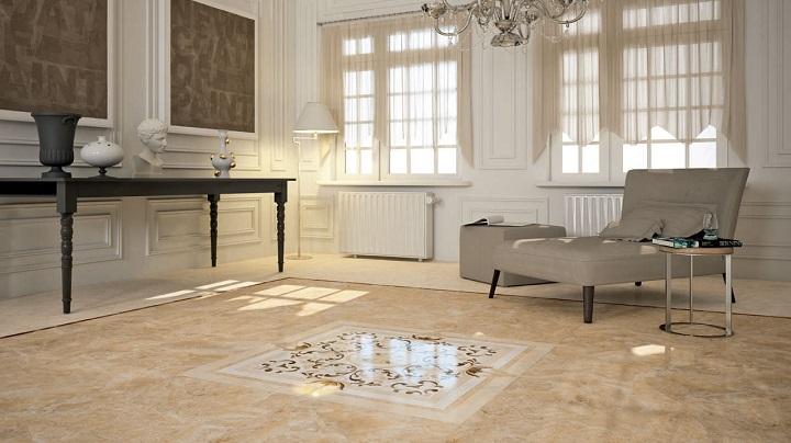 piso de marmol para tu hogar comedores europeos