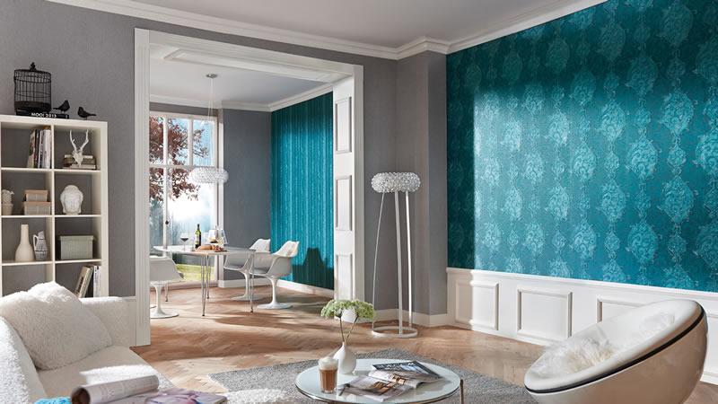 Decorar tu hogar con papel tapiz   marmol, granito, comedores ...