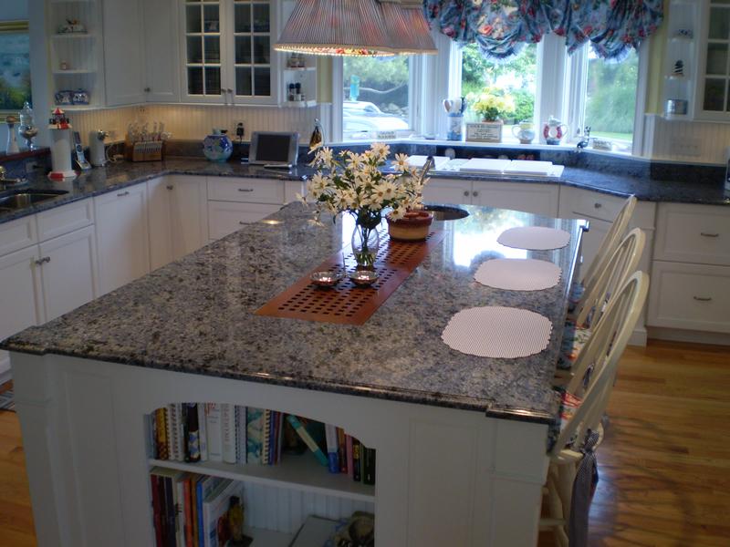 Cubiertas de cocina marmol granito comedores marmol for Cubiertas de granito